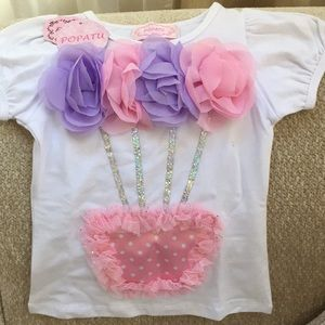 Girls shirt with flowers 🌸